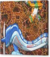 Kamikaze Kraze Canvas Print