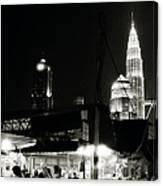 Kampung Baru Petronas Towers Canvas Print