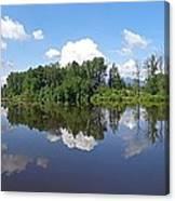 Kanaka Creek Rising - Maple Ridge, British Columbia Canvas Print