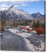 Kananaskis River Canvas Print