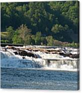 Kanawah Falls I - Spring Canvas Print