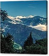 Kanchenjunga Canvas Print