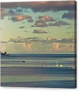 Kaneohe Bay Panorama Mural 3 Of 5 Canvas Print