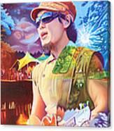 Kang At Hornings Hideout Canvas Print