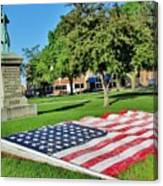 Kankakee Union Soldiers Memorial Canvas Print