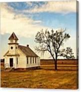 Kansas Church Canvas Print