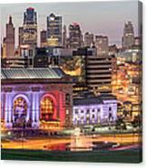 Kansas City 2 Canvas Print