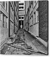 Kansas City Alley Canvas Print