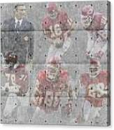 Kansas City Chiefs Legends Canvas Print