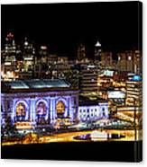 Kansas City Lights Canvas Print