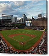 Kansas City Royals V Baltimore Orioles Canvas Print