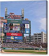 Kansas City Royals V Detroit Tigers Canvas Print