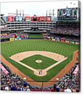 Kansas City Royals V Texas Rangers Canvas Print
