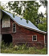Kansas Hay Barn Canvas Print