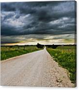 Kansas Storm In June Canvas Print