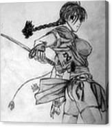 Kaoru Canvas Print