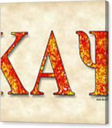 Kappa Alpha Psi - Parchment Canvas Print