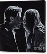 Karen Gillan And Arthur Darvill Canvas Print