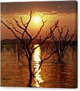 Kariba Sunset Canvas Print