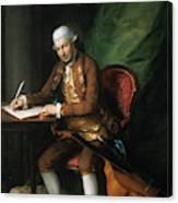 Karl Friedrich Abel (1725-1787) Canvas Print