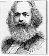 Karl Marx  German Radical Political Canvas Print