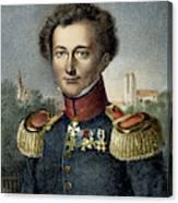 Karl Von Clausewitz (1780-1831) Canvas Print