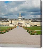 Karlsruhe Palace Canvas Print