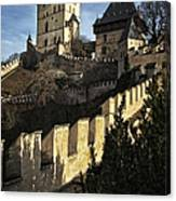 Karlstejn Castle Color Canvas Print