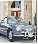 Karmann Ghia Coupe Canvas Print