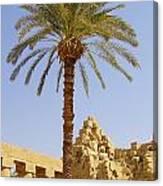 Karnak Temple 03 Canvas Print