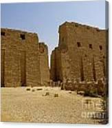 Karnak Temple 04 Canvas Print