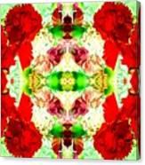 Karnation Kaleidoscope Canvas Print