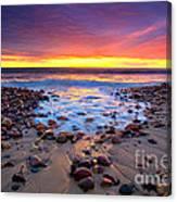 Karrara Sunset Canvas Print