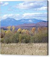 Katahdin From Staceyville 3 Canvas Print