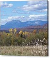 Katahdin From Staceyville 4 Canvas Print