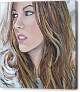 Kate Beckinsale Canvas Print