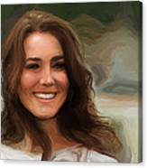 Kate Middleton Canvas Print