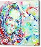 Kate Middleton Portrait.1 Canvas Print