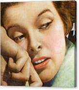 Kathryn Hepburn Canvas Print