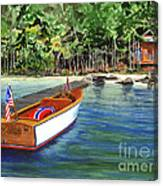 Kathy's Boat Canvas Print