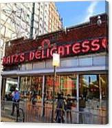 Katz's Delicatessan Canvas Print
