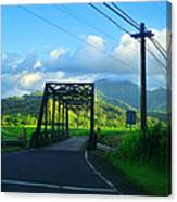 Kauai Bridge Canvas Print