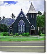 Kauai Church 2 Canvas Print