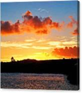 Kauai Sunset 2 Canvas Print