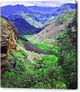 Kauai Valley Canvas Print