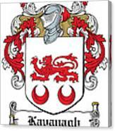 Kavanaugh Coat Of Arms Irish Canvas Print