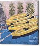 Kayak Dream Canvas Print