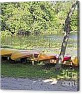 Kayak Rentals Canvas Print