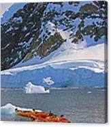 Kayaker's Dream Canvas Print