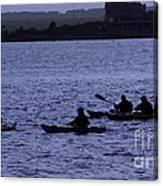 Kayaking Stonington Canvas Print